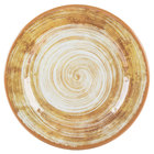 Carlisle 5400717 Mingle 7 inch Copper Round Melamine Bread and Butter Plate - 12/Case
