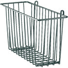 Metro H209-DSG Smoked Glass Storage Basket for Wire Shelving 13 3/8 inch x 5 inch x 7 inch