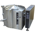 Blodgett KLT-40GS Liquid Propane 40 Gallon Short Height Tilting Quad-Leg Gas Steam Jacketed Kettle - 125,000 BTU