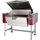 Blodgett BLT-30E 30 Gallon Manual Tilt Electric Braising Pan / Tilt Skillet - 240V, 3 Phase, 18 kW