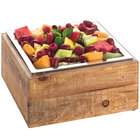 Cal-Mil 3367-99 Reclaimed Wood Cold Concept Cooling Base - 12