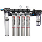 Everpure EV9329-54 High Flow CSR Quad-7CLM Water Filtration System with Pre-Filter - .5 Micron and 6.8/5.32/4 GPM
