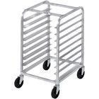 Channel 432S 5 Pan Stainless Steel End Load Undercounter Sheet / Bun Pan Rack - Assembled
