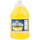 Carnival King 1 Gallon Banana Snow Cone Syrup