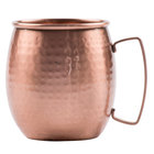 GET CPRMUG-02 21 oz. Moscow Mule Mug with Hammered Copper Finish