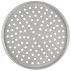 American Metalcraft T2016P 16 inch Perforated Tin-Plated Steel Pizza Pan