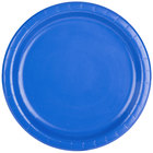 Creative Converting 473147B 9 inch Cobalt Blue Round Paper Plate - 24/Pack