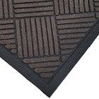 Cactus Mat 1509M-B35 Enviro-Scrape 3' x 5' Chestnut Brown Carpet Mat - 3/8