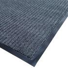 Cactus Mat 1485M-E31 3' x 10' Gray Needle Rib Carpet Mat - 3/8
