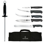 Victorinox 46135US2 7-Piece Knife Set with Black Fibrox Pro Handle