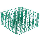 25 Compartment Catering Glassware Basket - 3 1/2