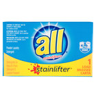 2 oz. ALL Stainlifter Powder Laundry Detergent Box for Coin Vending Machine - 100/Case