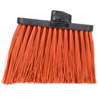 Carlisle 3686824 Duo-Sweep Heavy-Duty Angled Broom Head with Unflagged Orange Bristles