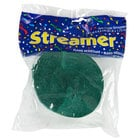 Creative Converting 071071 81' Hunter Green Streamer Paper - 12/Case