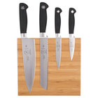 Mercer M21960BM Genesis 5-Piece Bamboo Magnetic Board and Knife Set