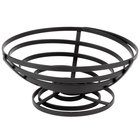American Metalcraft FCD3 Flat Coil Wrought Iron Cone Basket - 8 1/2 inch x 3 3/4 inch