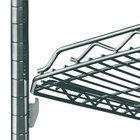 Metro HDM1836Q-DSG qwikSLOT Drop Mat Smoked Glass Wire Shelf - 18 inch x 36 inch