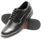 Genuine Grip 9540 Men's Size 12 Medium Width Black Oxford Non Slip Dress Shoe