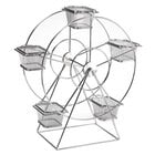 GET 4-92065 Chrome 5 Basket Ferris Wheel Rack - 14 1/2
