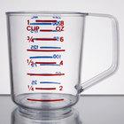 Rubbermaid 3210 Bouncer 1 Cup Polycarbonate Plastic Measuring Cup