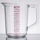 Rubbermaid 3217 Bouncer 2 Quart Polycarbonate Plastic Measuring Cup