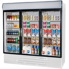 Beverage-Air 3 Section Glass Door Merchandising Freezers
