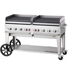 Crown Verity MG-60LP 60 inch Portable Outdoor Griddle - Liquid Propane