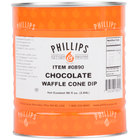 Chocolate Waffle Cone Dip - #10 Can