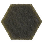 3M 96HEX 5 3/4 inch x 5 inch Scotch-Brite™ Dual Purpose Scour Pad   - 15/Case