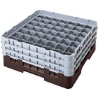 Cambro Full Size 49 Compartment Glass Racks, 3 5/8