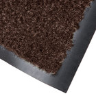 Cactus Mat 1437M-B41 Catalina Standard-Duty 4' x 10' Brown Olefin Carpet Entrance Floor Mat - 5/16