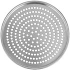 American Metalcraft HA2013SP 13 inch x 1/2 inch Super Perforated Heavy Weight Aluminum Tapered / Nesting Pizza Pan