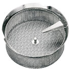 Tellier M5020 5/64 inch Perforated Replacement Sieve for # 5 Food Mill - Tin-Plated Steel