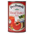 Dei Fratelli Prima Qualita 46 oz. Canned 100% Vegetable Juice