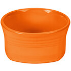 Homer Laughlin 922325 Fiesta Tangerine 20 oz. Square Bowl - 12 / Case