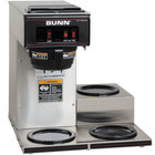 Bunn VP17-3 13300.0003 Low Profile Pourover Coffee Brewer with 3 Warmers (Bunn 13300.0003)