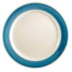 CAC R-21BLU Rainbow Plate 12 inch - Blue - 12/Case