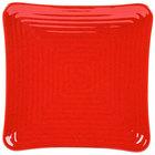 GET ML-63-RSP Milano 10 1/4 inch Red Sensation Square Melamine Plate - 12 / Pack