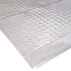Cactus Mat 3545R-3 Gripper 3' Wide Clear Vinyl Carpet Protection Runner Mat - 1/16 inch Thick