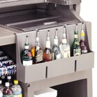 Cambro 730SR 7-Bottle Speed Rail for BAR650 and BAR730 Portable Bars