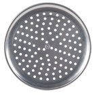 American Metalcraft HACTP13P 13 inch Perforated Coupe Pizza Pan - Heavy Weight Aluminum