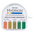Hydrion QT-40 Quaternary Test Paper Dispenser - 0-500ppm