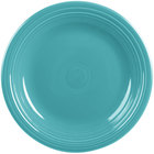 Homer Laughlin 466107 Fiesta Turquoise 10 1/2 inch Plate - 12/Case