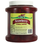 Fox's Strawberry Ice Cream Topping - 1/2 Gallon Container