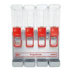 Cecilware Arctic Compact 8/4 Quadruple 2.2 Gallon Bowl Premix Cold Beverage Dispenser with Agitation Function
