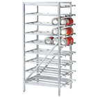 Advance Tabco CR10-162M Spec Line #10 Aluminum Can Rack Mobile - Full Size