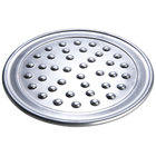 American Metalcraft HATP20N 20 inch Wide Rim Pizza Pan with Nibs - Heavy Weight Aluminum