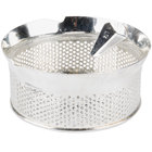 Tellier P10040 5/32 inch Perforated Replacement Sieve for 15 Qt. Food Mill on Stand - Tinned Steel