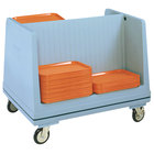 Metro DSD11 Double Side Load Polymer Dish and Tray Cart - 60 Dishes or 80 Trays