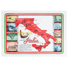 Hoffmaster 702022 10 inch x 14 inch Historic Italia Paper Placemat - 1000/Case